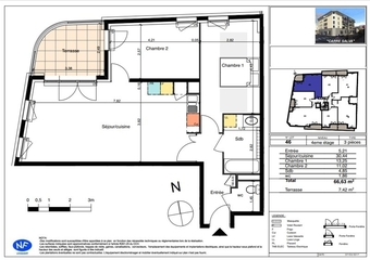Vente Appartement 3 pièces 67m² Six-Fours-les-Plages (83140) - photo