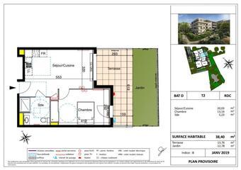 Vente Appartement 2 pièces 38m² SIX FOURS LES PLAGES - Photo 1
