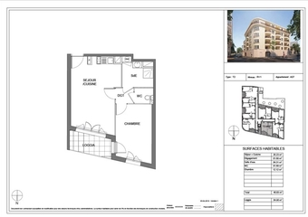 Vente Appartement 2 pièces 40m² Toulon (83000) - photo