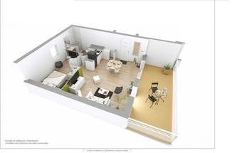 Vente Appartement 2 pièces 46m² Sanary-sur-Mer (83110) - photo