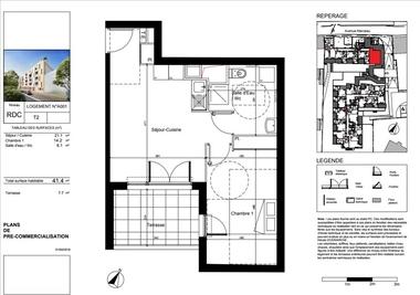 Sale Apartment 2 rooms 41m² Toulon (83000) - photo