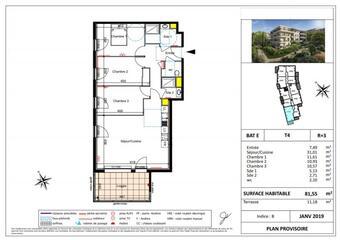 Vente Appartement 3 pièces 82m² SIX FOURS LES PLAGES - Photo 1