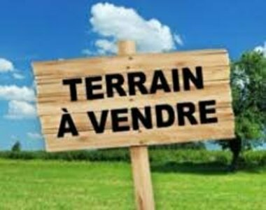 Vente Terrain 549m² chambeire - photo