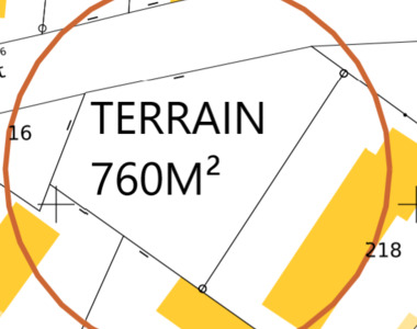 Vente Terrain 760m² auxonne - photo