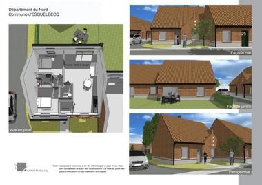 Vente Maison 3 pièces 73m² Esquelbecq (59470) - photo