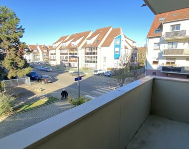 Location Appartement 2 pièces 48m² Illkirch-Graffenstaden (67400) - photo
