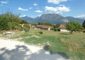 Vente Terrain 700m² Sassenage (38360) - photo
