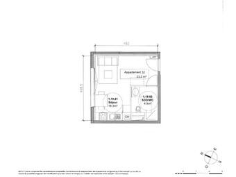 Vente Appartement 1 pièce 23m² Monteux (84170) - photo