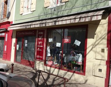 Location Fonds de commerce 90m² Monteux (84170) - photo