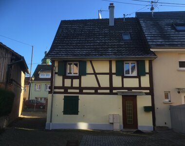 Location Maison 5 pièces 92m² Ebersmunster (67600) - photo