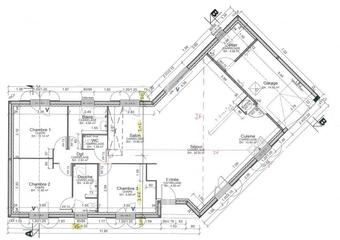 Vente Maison 4 pièces 125m² Beuzeville (27210) - photo