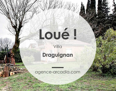 Location Maison 3 pièces 63m² Draguignan (83300) - photo