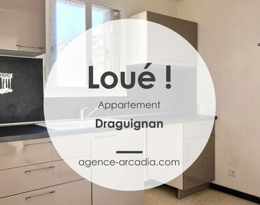 Location Appartement 4 pièces 66m² Draguignan (83300) - photo