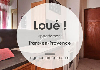 Location Appartement 1 pièce 22m² Trans-en-Provence (83720) - photo