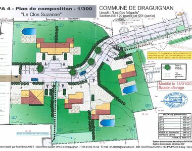 Vente Terrain 691m² Draguignan (83300) - photo