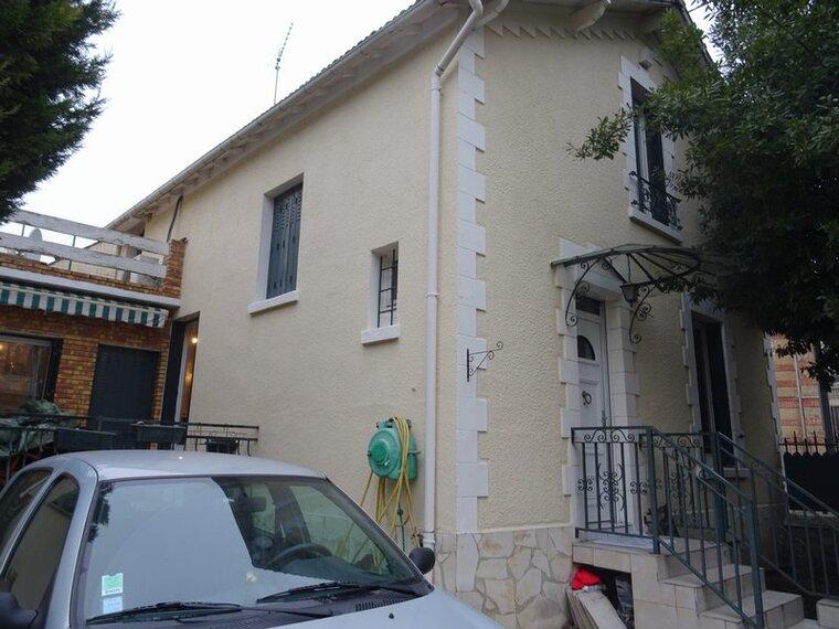 Vente Maison 4 pièces 110m² Pierrefitte-sur-Seine (93380) - photo