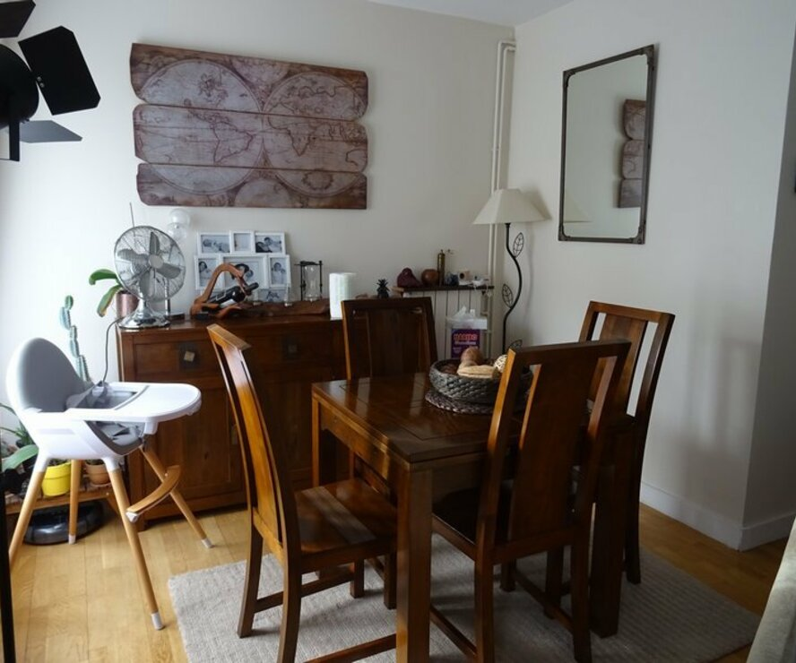 Vente Appartement 3 pièces 77m² pierrefitte sur seine - photo