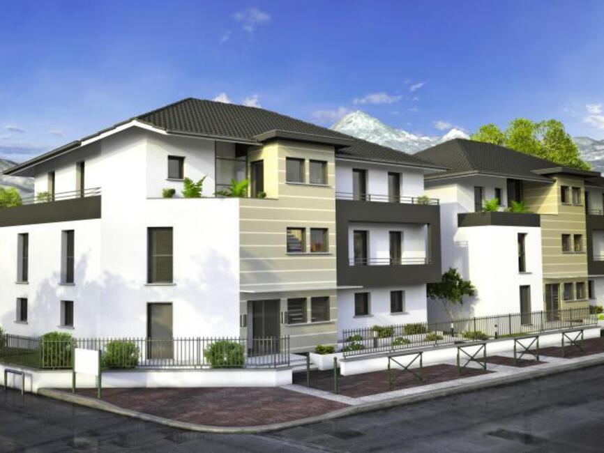 vente appartement 3 pi ces aix les bains 73100 253944. Black Bedroom Furniture Sets. Home Design Ideas