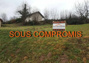 Vente Terrain 1 360m² Mouxy (73100) - photo