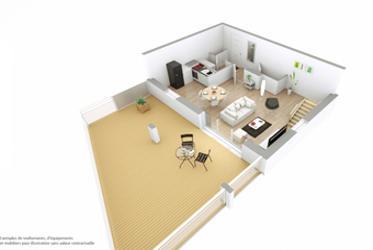 Vente Appartement 4 pièces 91m² SAINT GILLES CROIX DE VIE - photo