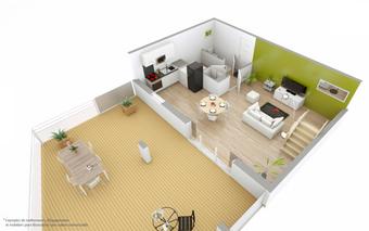 Vente Appartement 4 pièces 89m² SAINT GILLES CROIX DE VIE - photo