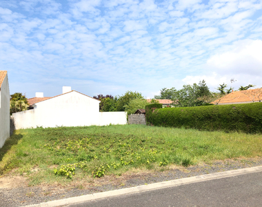 Vente Terrain 310m² SAINT HILAIRE DE RIEZ - photo