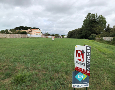 Vente Terrain 740m² SAINT HILAIRE DE RIEZ - photo