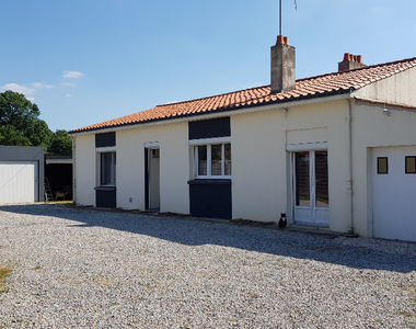 Vente Maison 4 pièces 83m² Apremont (85220) - photo