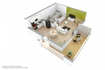 Vente Appartement 3 pièces 70m² Saint-Gilles-Croix-de-Vie (85800) - Photo 1