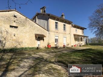 Vente Maison 10 pièces 330m² Fargues-Saint-Hilaire (33370) - photo