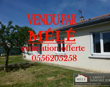 Sale House 4 rooms 85m² Cenon - photo