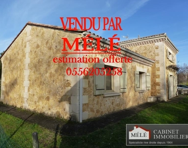 Sale House 5 rooms 131m² Creon - photo