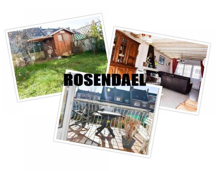 Vente Maison 6 pièces 95m² Rosendaël - photo
