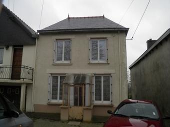 Vente Maison 4 pièces 65m² Saint-Vran (22230) - photo