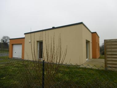 Location Maison 3 pièces 68m² Plouguenast (22150) - photo