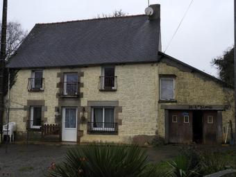 Vente Maison 4 pièces 100m² Saint-Malo-des-Trois-Fontaines (56490) - Photo 1
