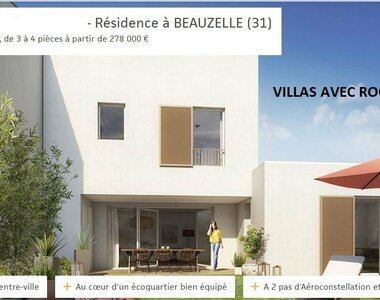 Vente Maison 4 pièces 83m² Beauzelle (31700) - photo