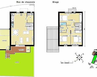 Vente Maison 4 pièces 79m² Cornebarrieu (31700) - photo
