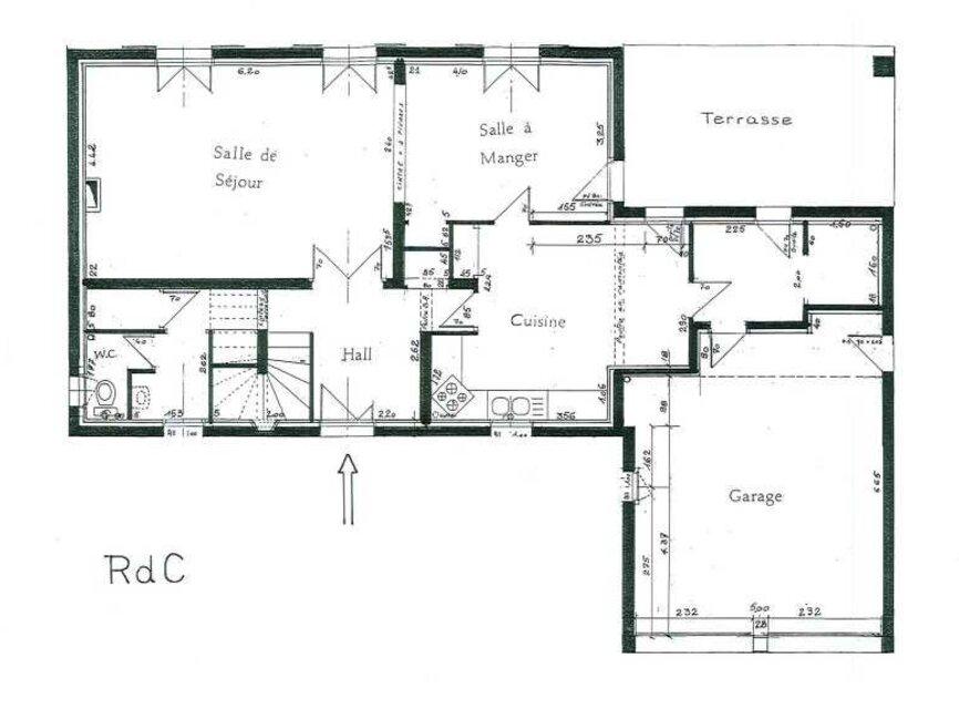 location maison 5 pi ces plaisance du touch 31830 451121. Black Bedroom Furniture Sets. Home Design Ideas