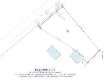 Vente Terrain 792m² Cornebarrieu (31700) - photo