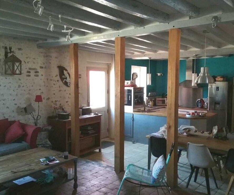 Vente Maison 5 pièces 150m² OUZOUER SUR LOIRE - photo