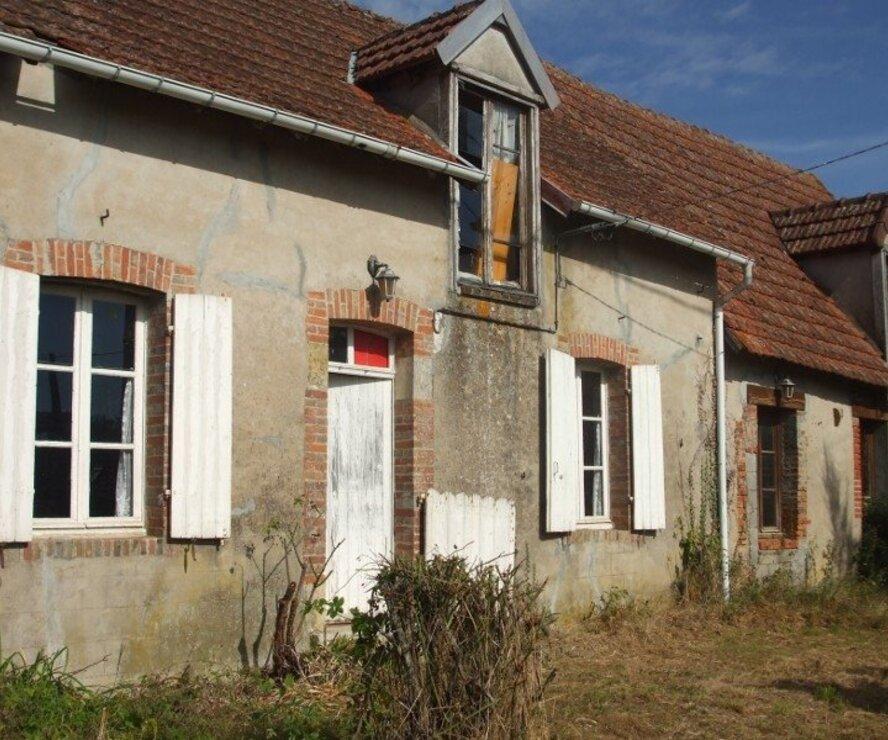 Vente Maison 3 pièces 91m² Santranges (18240) - photo