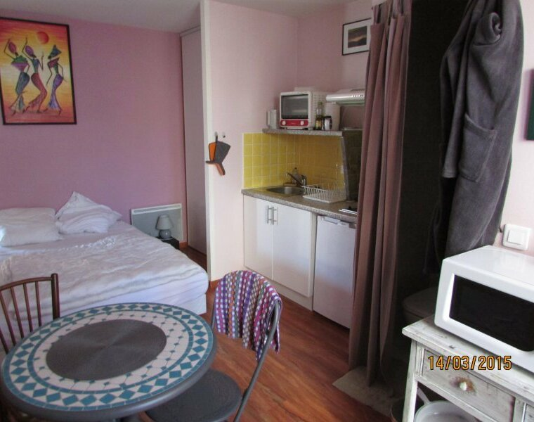 Location Appartement 1 pièce 18m² Saint-Pée-sur-Nivelle (64310) - photo