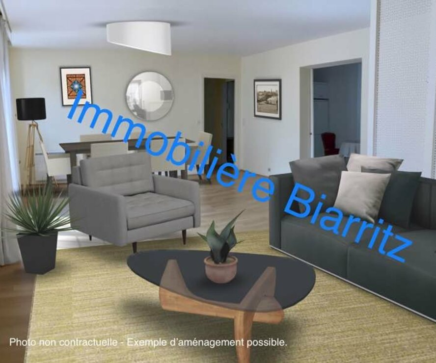 Vente Appartement 5 pièces 130m² Biarritz (64200) - photo