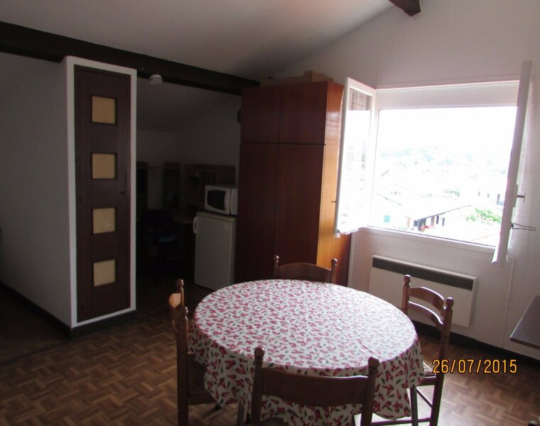 Location Appartement 1 pièce 24m² Saint-Pée-sur-Nivelle (64310) - photo