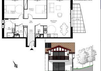 Vente Appartement 3 pièces 74m² urrugne - Photo 1
