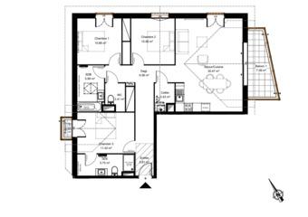 Vente Appartement 4 pièces 96m² urrugne - Photo 1
