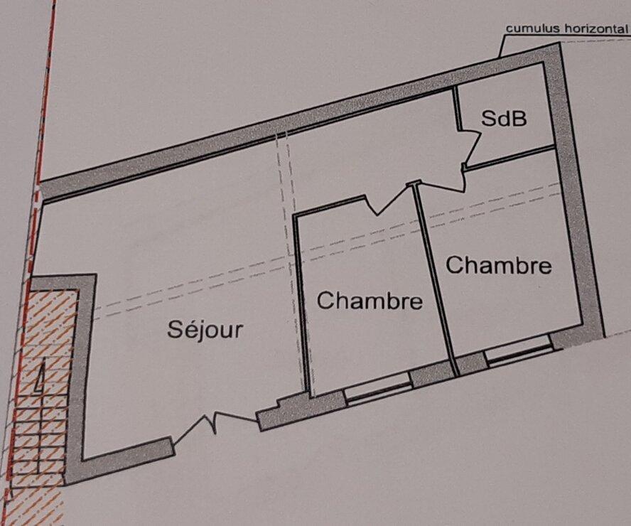 Vente Maison 3 pièces 50m² st pee sur nivelle - photo