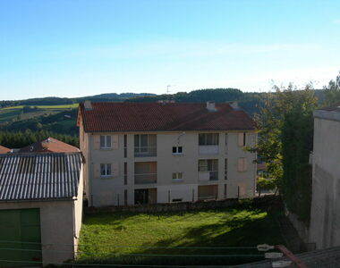 Location Appartement 3 pièces Saint-Just-Malmont (43240) - photo