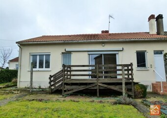 Vente Maison 5 pièces 75m² Montournais (85700) - photo
